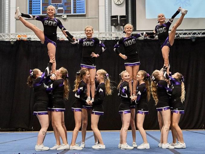 cheerleading kouvola